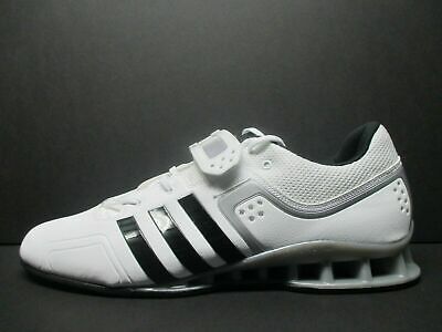 sports shoes 1bf13 4e190 Adidas AdiPower Mens Size 15 Weightlifting Powerlift Trainer Shoes White  M25733