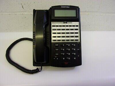 Iwatsu Ix-12ktd-3 12 Button Display Multi-line Phone Black