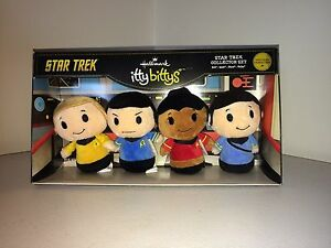 Star Trek itty bittys Halmark Plush Collector Set