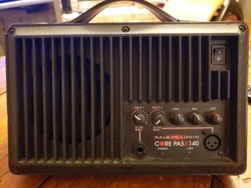 Galaxy Audio CORE PA5X140 PA5XD 100-Watt Compact PA System 5