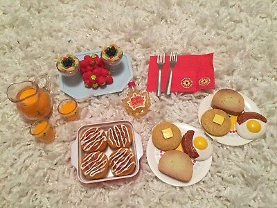 American Girl Doll- Delicious Breakfast Set COMPLETE *Retired