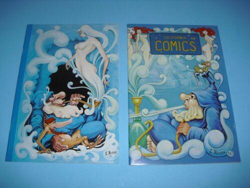 California Comics 1 & 2 around VF 1974! Bob Sidebottom underground Comix F98