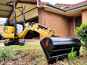 Gunthers Mini Excavator Hire. From $65p/h* Calamvale Brisbane South West Preview