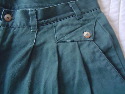 Hose Männer Herren Beinkleid Jeans grün Gr. 50 ()