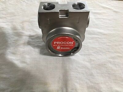 Procon 115b240f31xx 12 Stainless Steel Rotary Vane Pump 240 Gph
