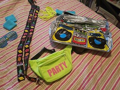 80's Costumes For Halloween (Bunch of 80's Halloween neon costume accessories for )