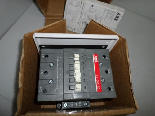 *NEW IN BOX*ABB A110W-30-01E-84 Welding Isolation Size-3 Contactor 600V A110W-30