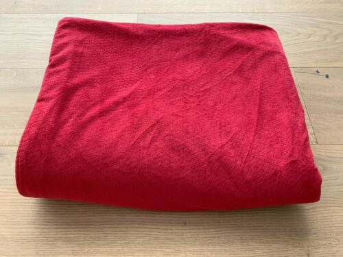 EUC Pottery Barn Kids Chamois Red Duvet Cover Twin HARD TO FIND!