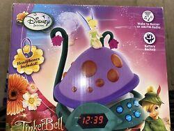 Disney Fairies Tinker Bell and The Lost Treasure Alarm Clock Radio Night Light