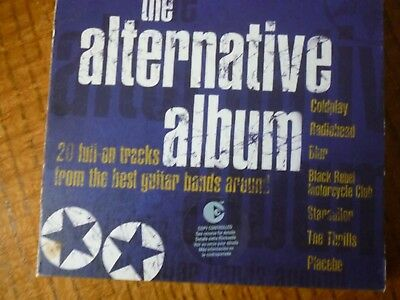 CD ALBUM - THE ALTERNATIVE ALBUM [20 tracks from the best Guitar Bands (Best Alternative Rock Bands)