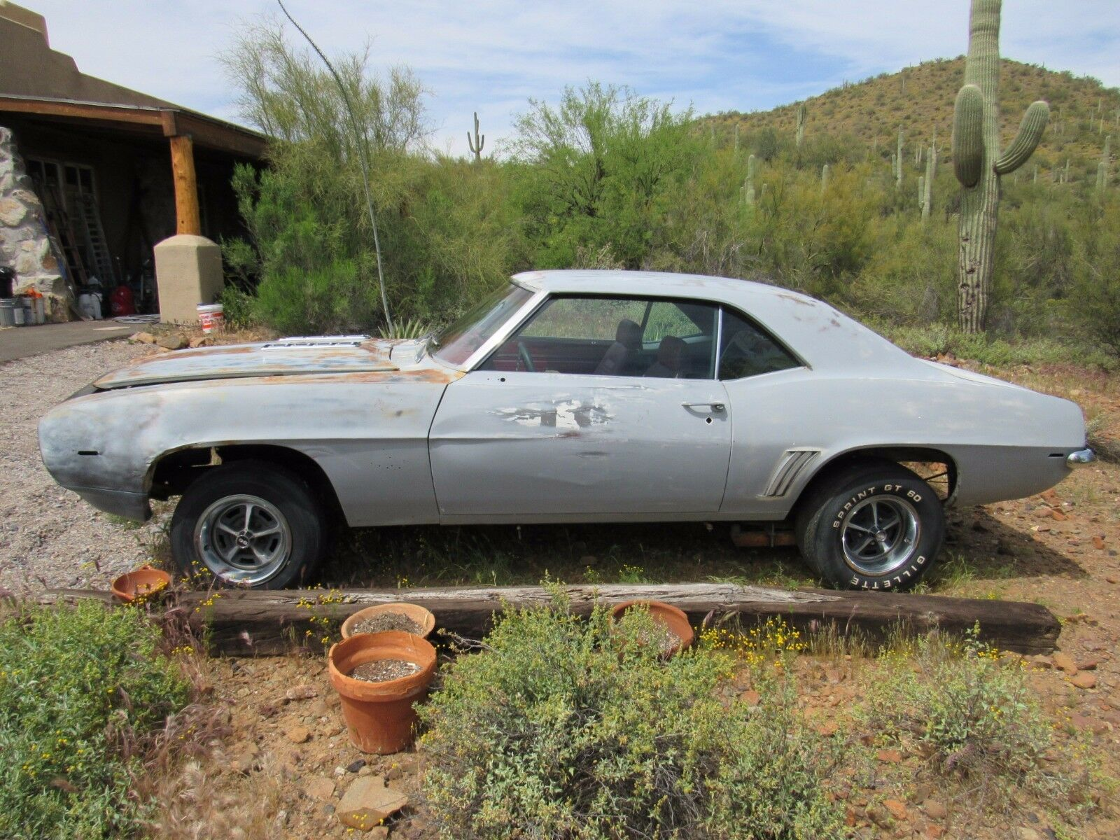 1969 Chevrolet Camaro Ss 396 Project Car Used Chevrolet