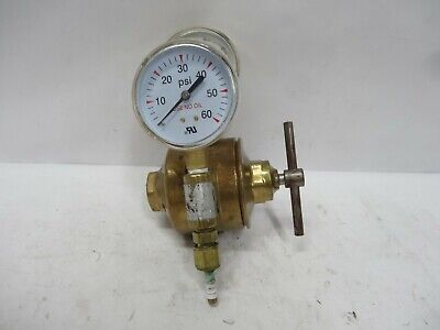 Airco Oxygen Acetylene Welding Regulator Dual Gauges 806-9541 Cg320