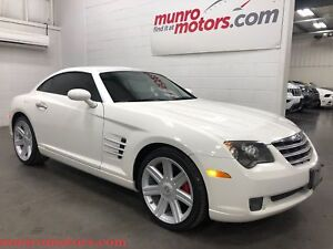 2004 Chrysler Crossfire Red Leather Automatic Clean Carproof FUN