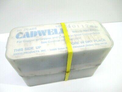 Cadweld Ca65 Weld Material Copper 1 Case 20 Cartridges Welding Construction