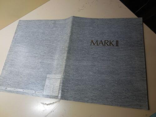 Toyota MARK II Japanese Brochure 1990/08 MX83 7M-GE JZX81 1JZ-GE/GTE GX81 1G-GE