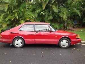 1993 Red Vintage Saab 900 Hatchback Byron Bay Byron Area Preview