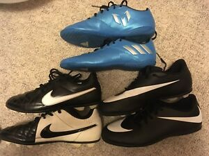 Various Soccer cleats Nike Adidas Messi  OBO