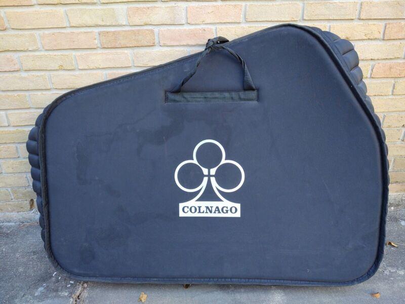 Colnago Bike Travel Luggage Soft Transport Bag, Incl Wheel Guards - Excellent!