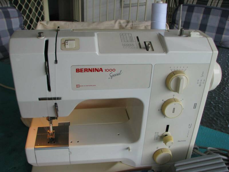 BERNINA 40 Quilters Special Sewing Machine Ex Cond Serviced Classy Bernina 1000 Special Sewing Machine Manual