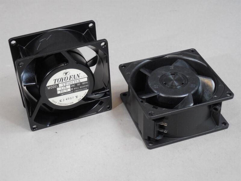LOT of 2 Toyo Fan TF80115A 115VAC