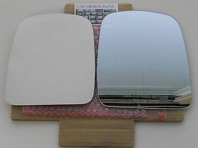 B968R - 03-07 CHEVY EXPRESS GMC SAVANA Mirror Glass Passenger Side RH + Adhesive
