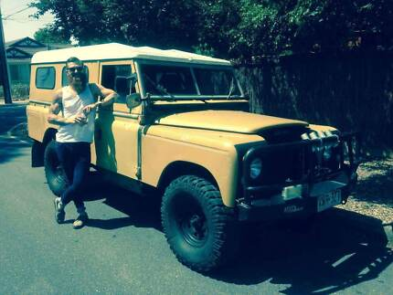 Land Rover Series 2.6L cyl and Driveline