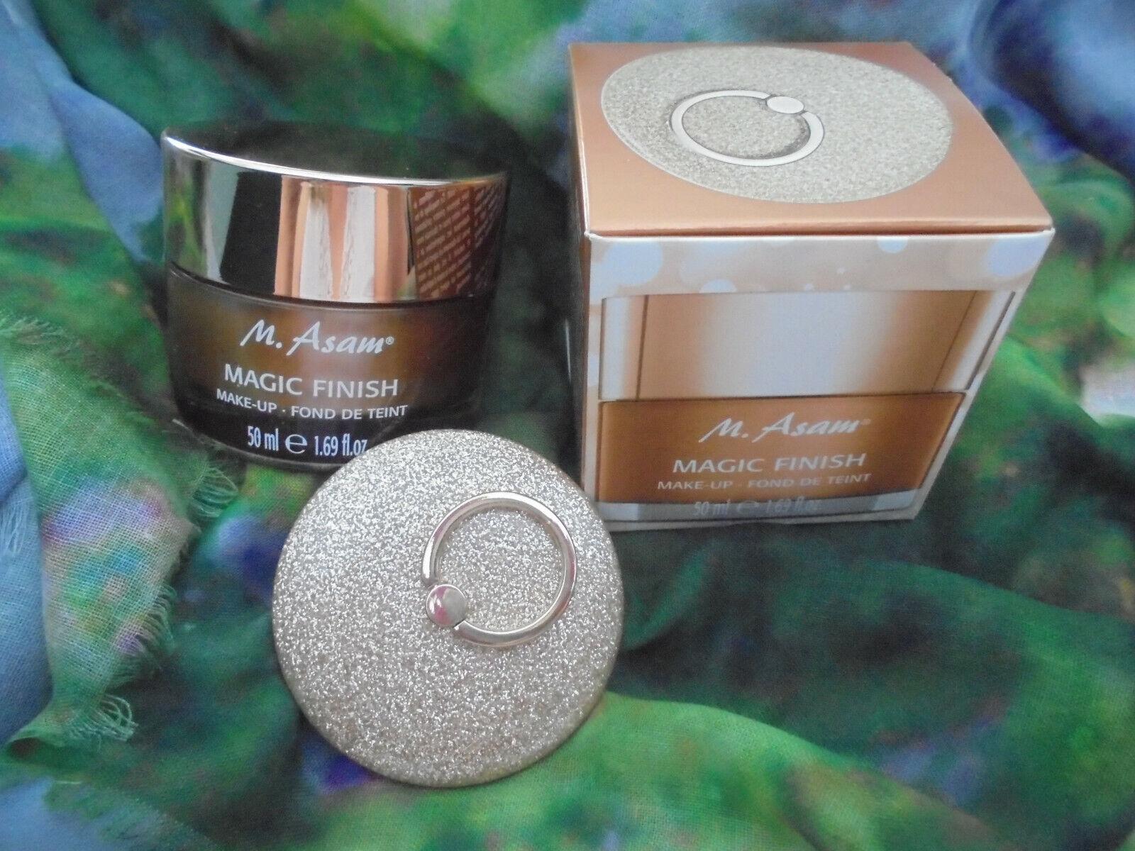 M.ASAM  Magic Finish Make-up Mousse XL 50 ml neu mit Spiegel in OVP