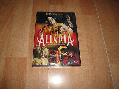 CIRQUE DU SOLEIL EN DVD ALEGRIA GRABADO EN DIRECTO EN SYDNEY NUEVA...
