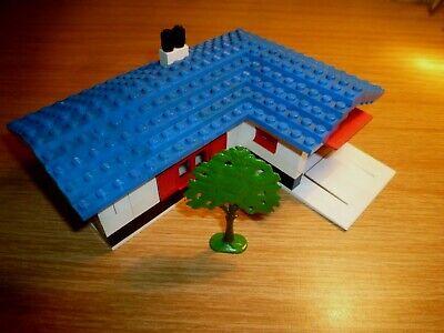 Lego system 324 Haus mit Baum 60er 60s House with garage vintage
