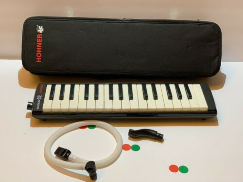 Hohner Instructor 32 Melodica In Case Keyboard Airboard Free Shipping.