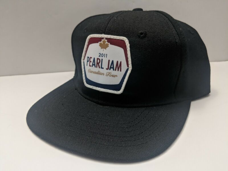 PEARL JAM 2011 CANADIAN TOUR SNAPBACK HAT MOLSON ONE SIZE - NEW PJ20 Rare Vedder