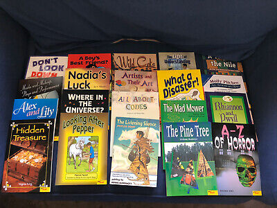 10 NEW 5th FIFTH GRADE Guided Reading Circle PB Books Home School Teachers