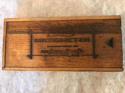 Lufkin Rule Vintage Micrometer No. 1912 In Original Box