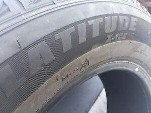 255/65/17 Michelin latitude x ice