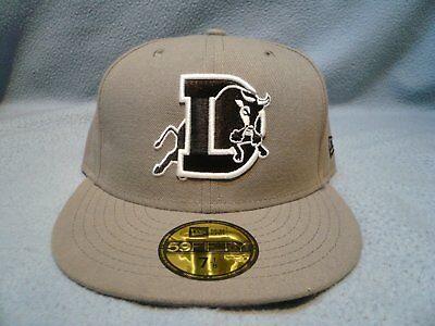 newest collection ed0fd 934e8 New Era 59fifty Durham Bulls Sz 7 1 8 BRAND NEW Fitted cap hat MiLB Baseball