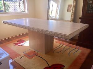 Travertine Dining Table Wakeley Fairfield Area Preview
