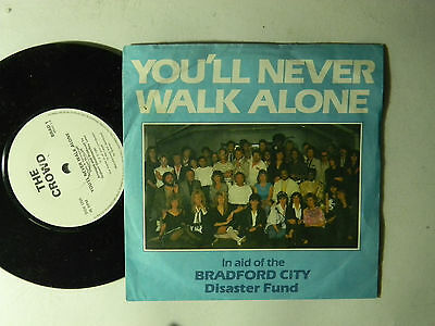 Bradford City Fund Uk 45 W Ps Youll Never Walk Alone Message Vg Lemmy Mccartney