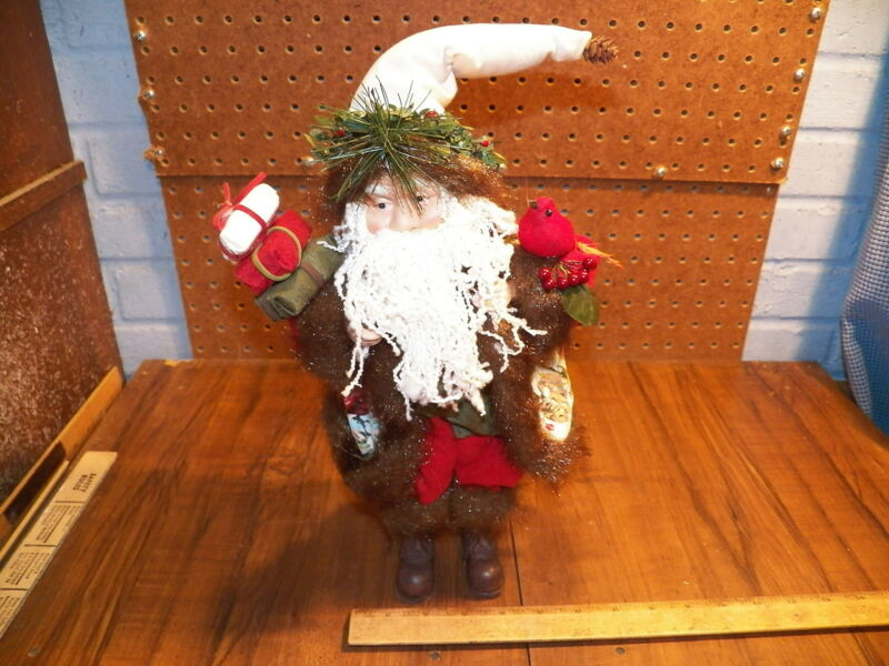 Vintage CREATIVE DESIGN Santa Christmas Decoration Figure