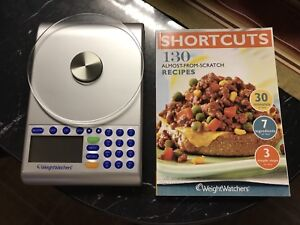 Weight watchers scale and book for sale.