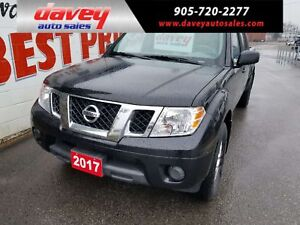 2017 Nissan Frontier SV 4X4, CREW CAB, BLUETOOTH