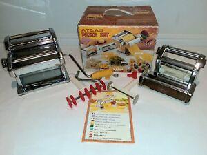 Marcato Atlas Pasta Set 150 Deluxe with Ravioli Maker