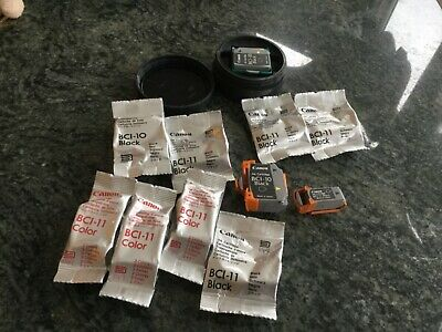 Lot Of Vintage Cannon Ink Cartridges For Bc Bci-11 Color And Black Complete Lot