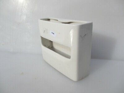 Vintage Ceramic Loo Roll Paper Tissue Dispenser Holder Toilet WC Old
