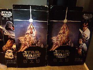 Star Wars Cardboard Displays and Magazines