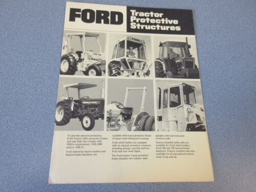 Ford Tractor Protective Structures Brochure                  lw