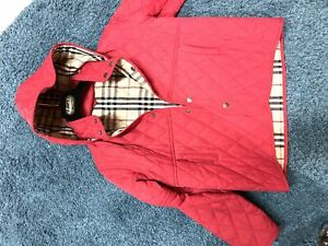 Spring red Jacket Burberry