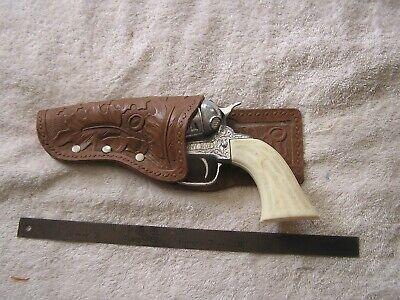 Antique Pony Boy Cowboy Cap Gun  with holster
