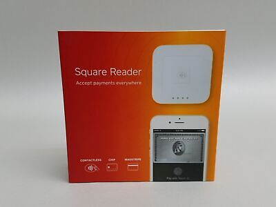 New Square A-sku-0113 Contactless Credit Card And Chip Reader - White