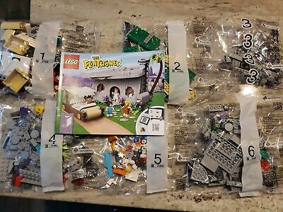 Lego Ideas # 21316 The Flintstones Complete Sealed Bags with Manual