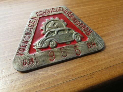 KDF  Employee Badge Volkswagen Schmiedewerk Ustron